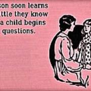 Child Questions Poster