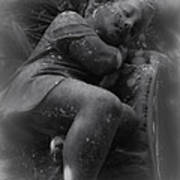 Child Statue Poster by Jennifer Burley