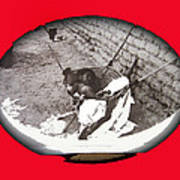 Child Tohono O'odham Hammock #2  Unknown Location And Date - 2013. Poster