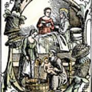 Childbirth, 1499 Poster