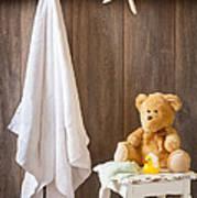 Childrens Bathroom Poster