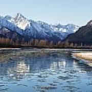 Chilkat River Freeze Up Poster
