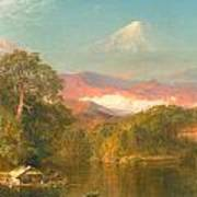 Chimborazo Poster by Frederic Edwin Church