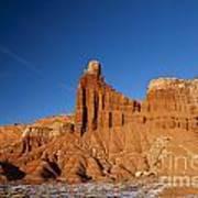 Chimney Rock Capitol Reef National Park Utah Poster