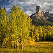 Chimney Rock San Juan Nf Colorado Img 9722 Poster