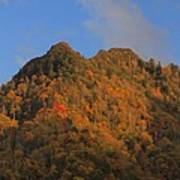 Chimney Tops In Smoky Mountains Poster
