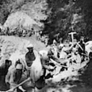 China Burma Road, 1944 Poster