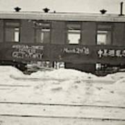 China Railroad, 1918 Poster