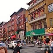 China Town Nyc Poster