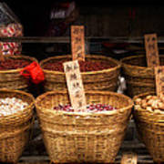 Chinese Baskets Poster