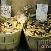 Chinese Crabs For Sale Poster