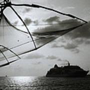 Approaching Cochin Poster