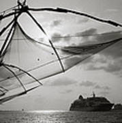 Chinese Fishing Net Poster