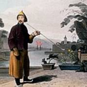 Chinese Gentleman, From A Picturesque Poster