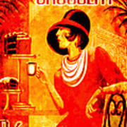 Chocolat Delicieux Red Poster
