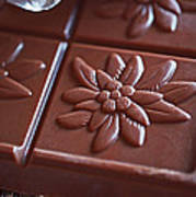 Chocolate Flower  Poster