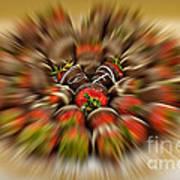 Chocolate Strawberry Rush Poster