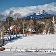 Chocorua - Where The Mountain Meets The Town Poster