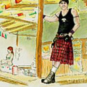 Chris At The Broken Spoke Saloon Poster