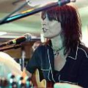 Chrissie Hynde Acoustic By Denise Dube Poster