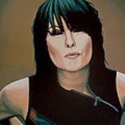 Chrissie Hynde Painting Poster