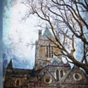Christ Church Cathedral Dublin Poster