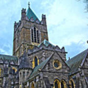Christ Church Cathedral In Dublin Poster