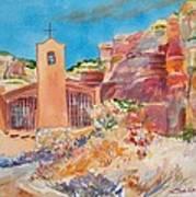 Christ In The Desert Monastery Poster
