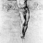 Christ On The Cross Poster by Michelangelo Buonarroti