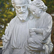 Christ With Child Poster