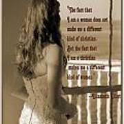 Christian Woman Poster