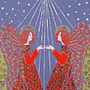 Christmas 77 Poster by Gillian Lawson