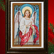 Christmas Angel Art Prints Or Cards Poster
