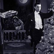 Christmas At Dracula's Poster