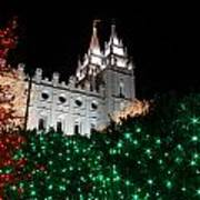 Christmas At Temple Square 12 Poster