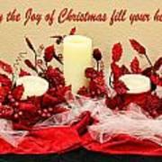 Christmas  Candels Poster