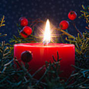 Christmas Candle Poster