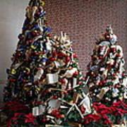 Christmas Display - Mt Vernon - 01131 Poster by DC Photographer