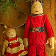 Christmas Dolls Poster