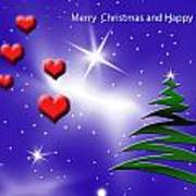 Christmas Hearts Poster