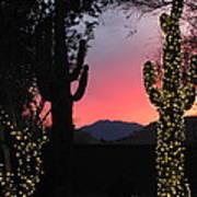 Christmas In Arizona Poster