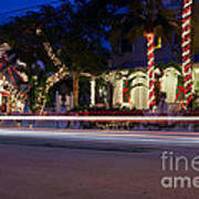 Christmas In Key West Poster