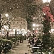 Christmas In Manhattan Poster