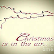 Christmas Is In The Air Poster