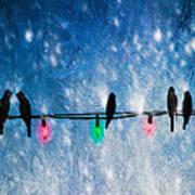 Christmas Lights Poster by Bob Orsillo