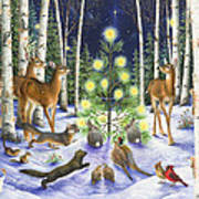 Christmas Magic Poster by Lynn Bywaters