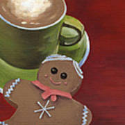 Christmas Morning Poster by Natasha Denger