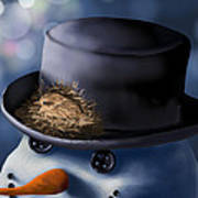 Christmas Nest Poster