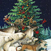Christmas Parade Poster by Lynn Bywaters