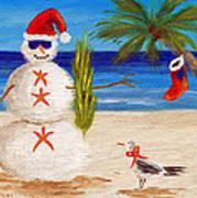Christmas Sandman Poster